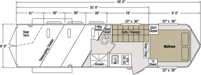 horse trailer living quarters wiring diagram horse sundowner trailer corporation on horse trailer living quarters wiring diagram