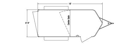Sundowner Sportman Gooseneck Trailer Floorplan